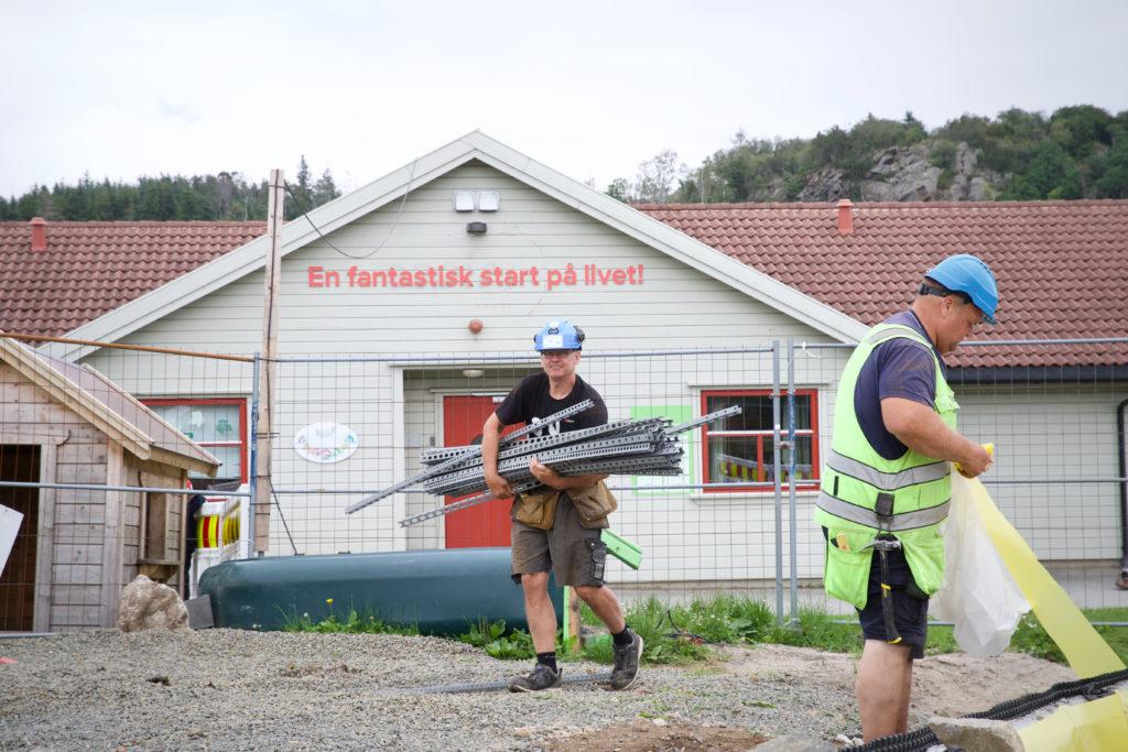 Jan Kjørkleiv og Ove Rosåsen.